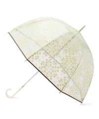 フラワー柄クリア傘
