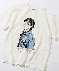 《予約》【EDWIN / エドウィン】ジーパン女子×江口寿史Tシャツ 「Boyfriend style1」