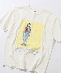 【EDWIN / エドウィン】ジーパン女子×江口寿史Tシャツ「Boyfriend style2」