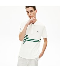 レギュラーフィット ストライププリントポロシャツ(半袖)