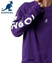 【KANGOL】カンゴール ビッグシルエット ミニロゴ刺繍 袖ロゴプリント バックロゴプリント 裏毛 トレーナー 春 ユニセックス