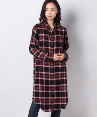 JUNIPER LONG BF SHIRT POPPLE HERRINGBONE