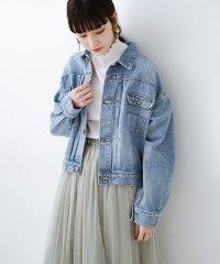 Wrangler ワイドシルエットがかわいいデニムジャケット