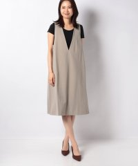 【MIDIUMISOLID】V neck ワンピース