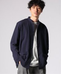 【the conspires/コンスパイアーズ】stand collar pp jacket