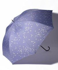 スター柄晴雨兼用ジャンプ長傘 雨傘
