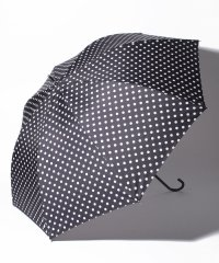ドット柄晴雨兼用ジャンプ長傘 雨傘