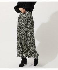 BOUQUET FLOWER PLEATS SKIRT