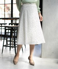 ★[WEB限定]ランダムドットプリントスカート◆