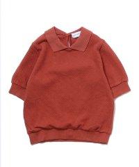 プチプチカノコ5分袖ポロシャツ
