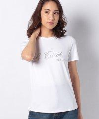 ラメプリントTシャツ
