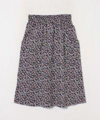 IBZ9 JUPE フラワープリントスカート
