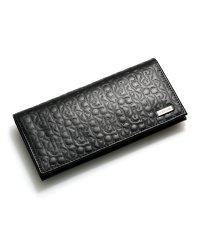 Calvin Klein 74283 カルバンクライン CKエンボス 二つ折り長財布 財布 ブラック 黒 74283-BLK メンズ
