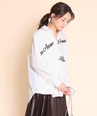 SCOTCLUB(スコットクラブ) 刺繍ロゴコットンシャツ