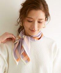 サイドラインプリントスカーフ