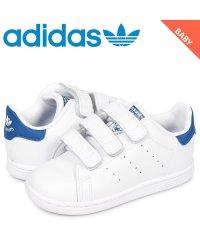 アディダス オリジナルス adidas Originals スタンスミス スニーカー ベビー キッズ STAN SMITH CF I ホワイト 白 S74782