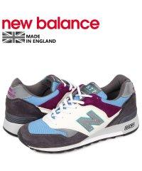 ニューバランス new balance 577 スニーカー メンズ Dワイズ MADE IN UK グレー M577GBP
