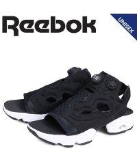 リーボック Reebok インスタ ポンプフューリー サンダル スポーツサンダル メンズ レディース INSTAPUMP FURY SANDAL ブラック 黒