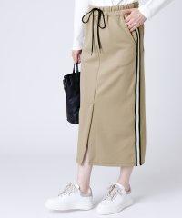 [RADIATE] ラインテープスカート