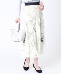 [RADIATE] ロゴデザイン プリーツスカート
