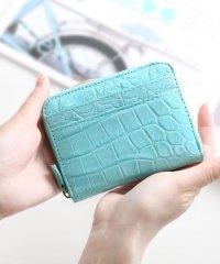 クロコダイルレザーミニ財布