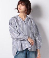【WORKNOTWORK】マルチストライプオープンカラーシャツ