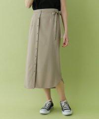 【ITEMS】マエボタンラップスカート