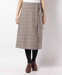 【WAREHOUSE】ベルト付きスカート