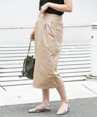 【DOORS】ワンウォッシュタックストレートスカート