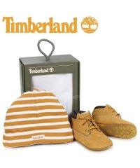 ティンバーランド Timberland ブーツ シューズ キャップ 帽子 ニット帽 セット キッズ ベビー INFANT CRIB BOOTIES CAP SE