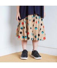 ボリューム総柄スカート