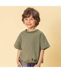 WEB限定 布帛半袖Tシャツ