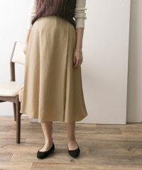 【UR】ラップフレアスカート