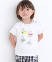 天竺乗り物プリントTシャツ