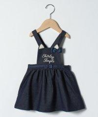 ねこちゃん胸当てジャンパースカート(90cm)