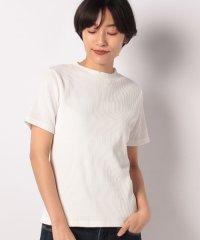 【SENSEOFPLACE】リブクルーネックTシャツ(半袖)