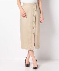 【SENSEOFPLACE】ボタンディテールタイトスカート