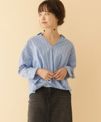 【ITEMS】ストライプスキッパーカシュクールシャツ