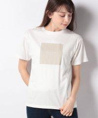 【SENSEOFPLACE】ボックスロゴプリントTシャツ(半袖)
