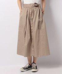 【ITEMS】ウエストマークマエボタンスカート