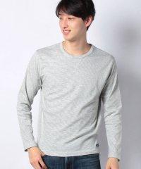 定番コットンスムースボーダーロングTシャツ