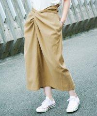 【KBF+】フロントデザインコクーンスカート