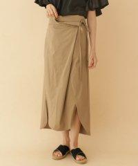 【ITEMS】コードラップロングスカート