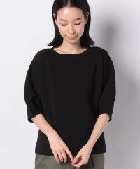 【SENSEOFPLACE】ボリュームスリーブセーター(5分袖)