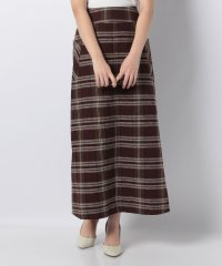 【ITEMS】チェックアサAラインスカート