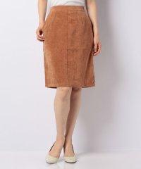 【KBF+】サマースエードタイトスカート