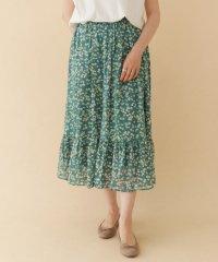 【ITEMS】小花柄フレアスカート