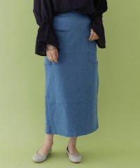 【ITEMS】アウトポケットデニムスカート