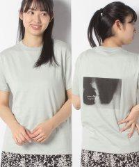 【SENSEOFPLACE】フォトバックプリントTシャツ(半袖)