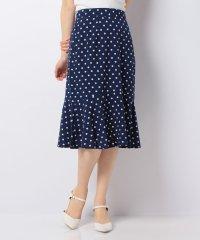 【ITEMS】裾フレアドットスカート